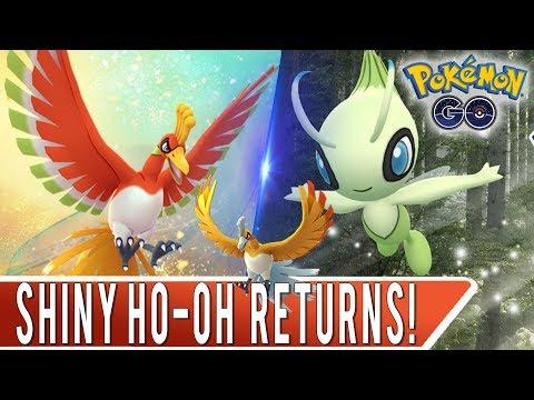 SHINY HO-OH RETURNS TO POKEMON GO FOR JOHTO EVENT! EX Raid Pass Hunting & Shiny Ho-Oh Hunting! thumbnail