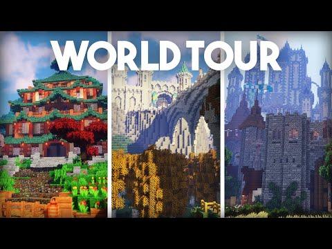 5 Year Old Minecraft Survival World Tour & Download! | Episode 200