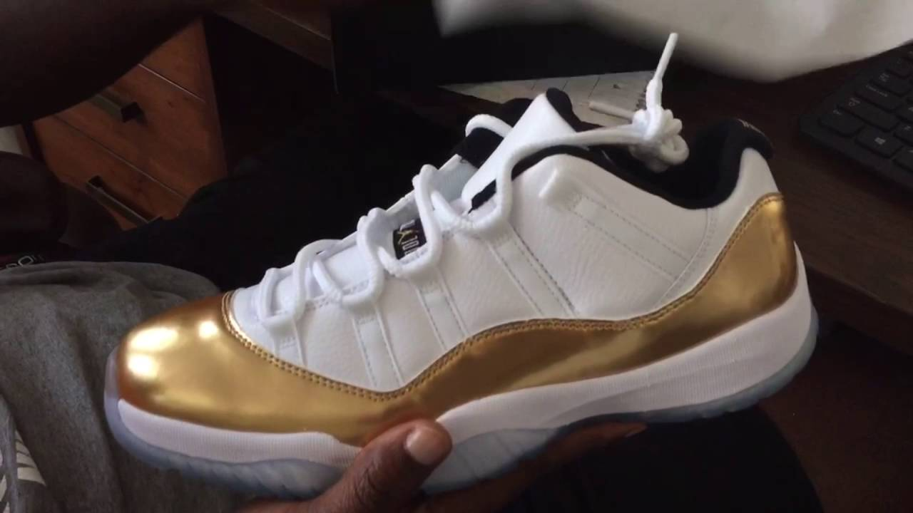 dbbb73fd3abac9 Air Jordan 11 Retro Low Closing Ceremony Quick Look - YouTube