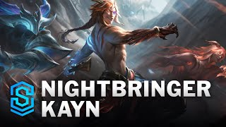 Nightbringer Kayn Skin Spotlight - League of Legends