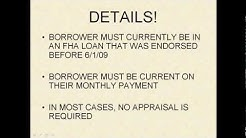 Reduced FHA Fees