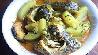 রুই মাছ দিয়ে লাউ রান্না || Rui Fish Curry With Gourd|| Lau and Fish Ranna