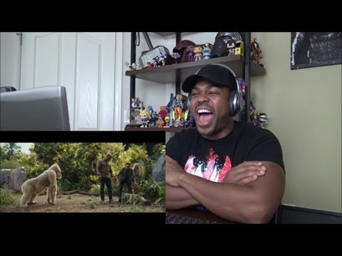 RAMPAGE Official Trailer #3 - REACTION!!!