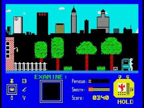 That's the Spirit Walkthrough, ZX Spectrum