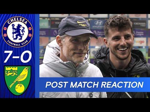Mason Mount & Thomas Tuchel React After Thriller! | Chelsea 7-0 Norwich | Premier League