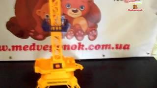 Видеообзор: Кран BIG MOTORS на пульте управления игрушка, 9898 Цены, фото, отзывы, описание.