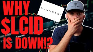 WHY $LCID Stock Is Falling AND Future Outlook