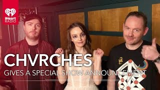 CHVRCHES Gives An Exclusive 'Love Is Dead' Album Release Message!