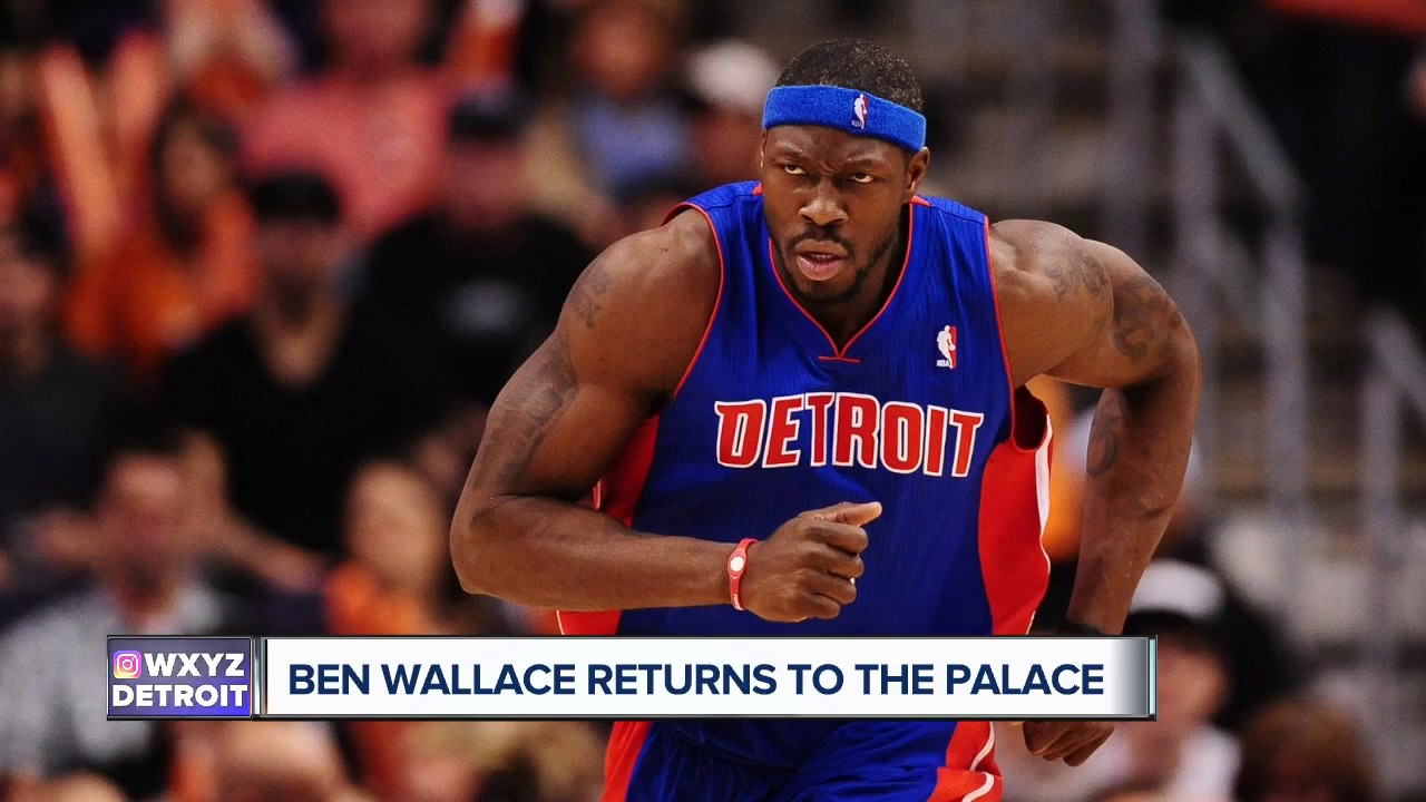 Ben Wallace shares memories on final visit to The Palace