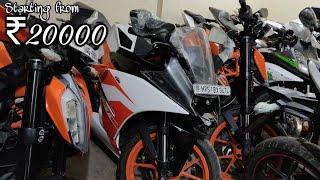 Used Bikes starting from ₹20000/-🔥| KTM, Pulsar, Apache, R15, Dominar | DELHI | Tushar 51NGH
