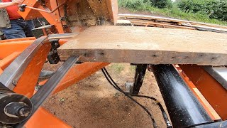 Resawing Old-Growth Lumber
