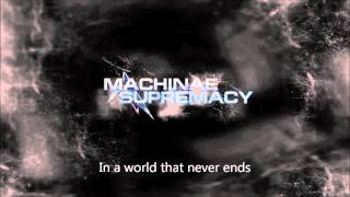 Machinae Supremacy Player One with lyrics on screen