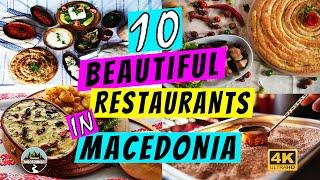 10 Beautiful Restaurants in Macedonia | 10 Prekrasni Restorani vo Makedonija