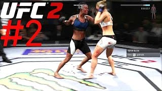UFC 2 ✪ Angezockt ✪ #2 Frauen in den Kampf [Ps4/HD/German]