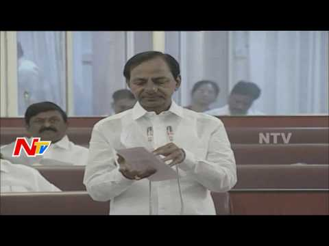No Discussion about Unnecessary Things: KCR || Telangana Legislative Council || NTV