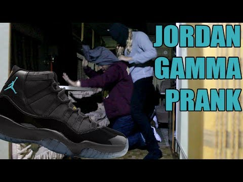Jordan Gamma Prank (Sneaker Deal Gone Wrong)