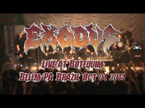 Exodus - Show Completo (Live at Botequim, Belém/Pará, Brasil, 01 Outubro 2014) HD