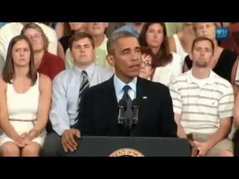 FULL SPEECH! Obama delivers speech on US economy from Knox College in Galesburg, Ill 7/24/2013