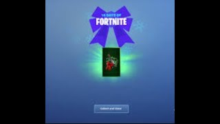 Fortnite - how to unlock day 5 free gift (14 days of Fortnite).