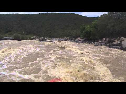 Kayaking the Bushmans river from Weenen to the Tugela in KZN South Africa