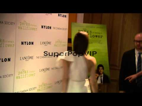 Emma Watson at The Cinema Society With Lancome and Nylon ...