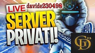 🔴 Live Fortnite - SERVER PRIVATI PER TUTTI + PROVINI!! Auguri a me :D