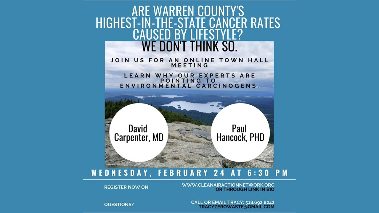 Town Hall Critique of DOH Health Study