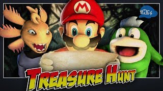 SMG4: Treasure Hunt With The Bois