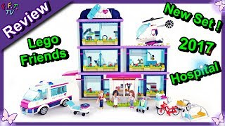 Heartlake Hospital Lego Friends 41318 ❤ Speed Build Review Play and Fun ❤