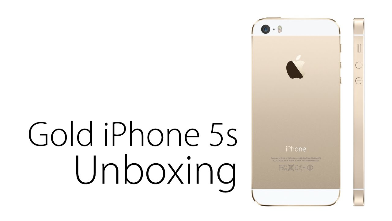 Gold iPhone 5s Unboxing And Overview - YouTubeIphone 5s Champagne Gold Unboxing
