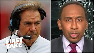 Stephen A. on several high-profile coaches making the case to play college football | First Take