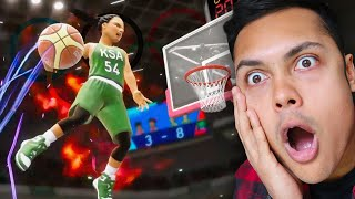 MOST INSANE BASKETBALL DUNK (Tokyo 2020: The Game)