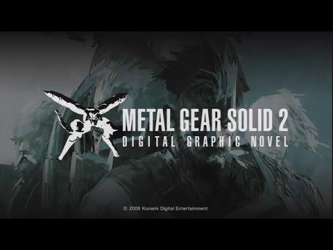 Metal Gear Solid 2 (Digital Graphic Novel HD)