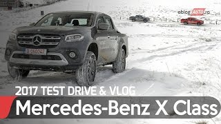Mercedes-BENZ X Class Pick-up Premium 2017 | TEST Drive eblogAUTO
