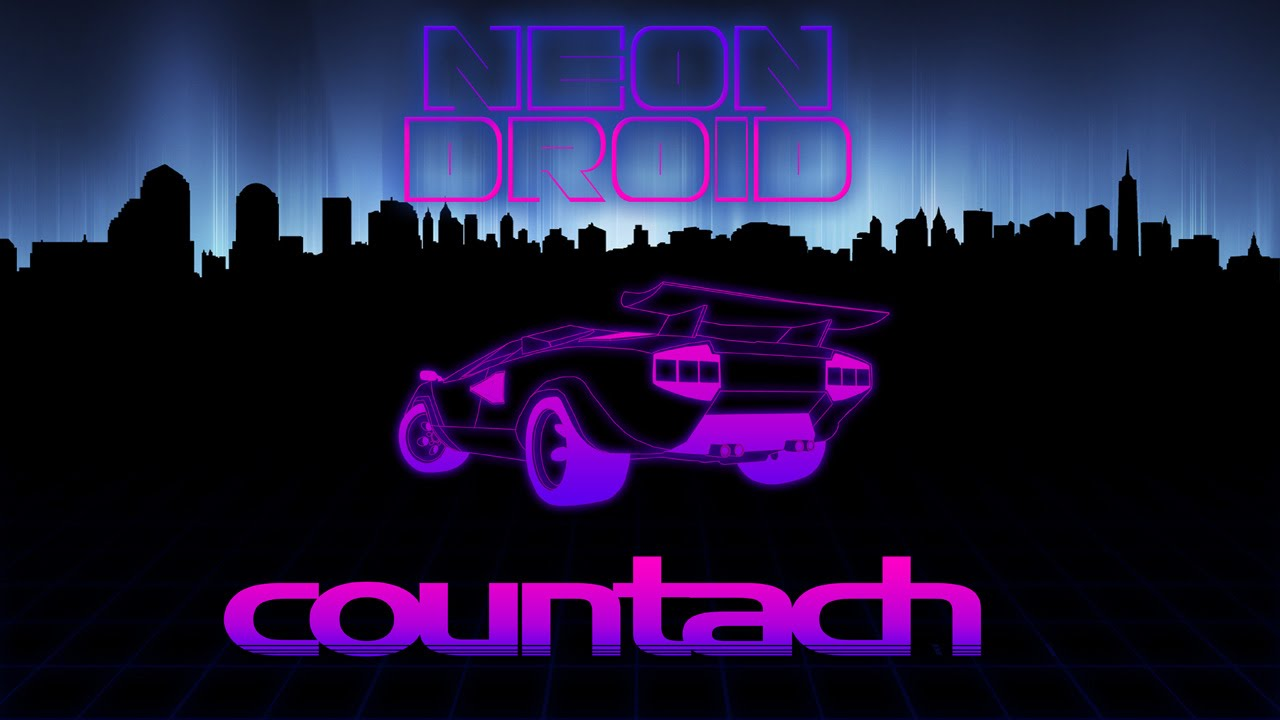 Neon Droid Countach Music Video Youtube
