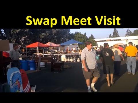Swap Meet Visit & Work Vlog Video Bazaar Flea Market Deals