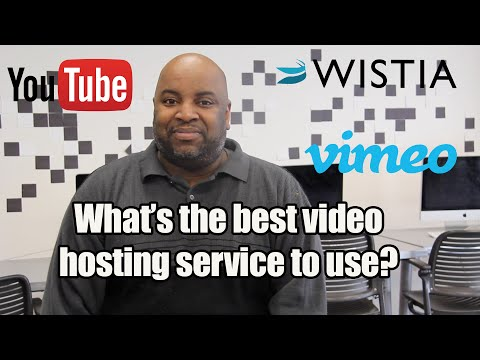 What's the best video hosting service to use?