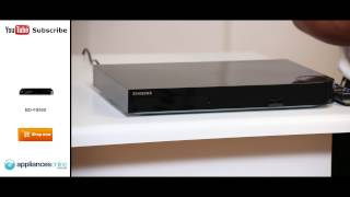 Samsung BD-F8500A 3D Blu-ray Player 500GB Recorder explained by expert - Appliances Online