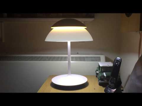 philips hue beyond table lamp youtube. Black Bedroom Furniture Sets. Home Design Ideas