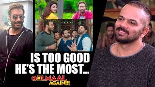 """""""Ajay Devgn Is Too Good, He's The Most…"""": Rohit Shetty 