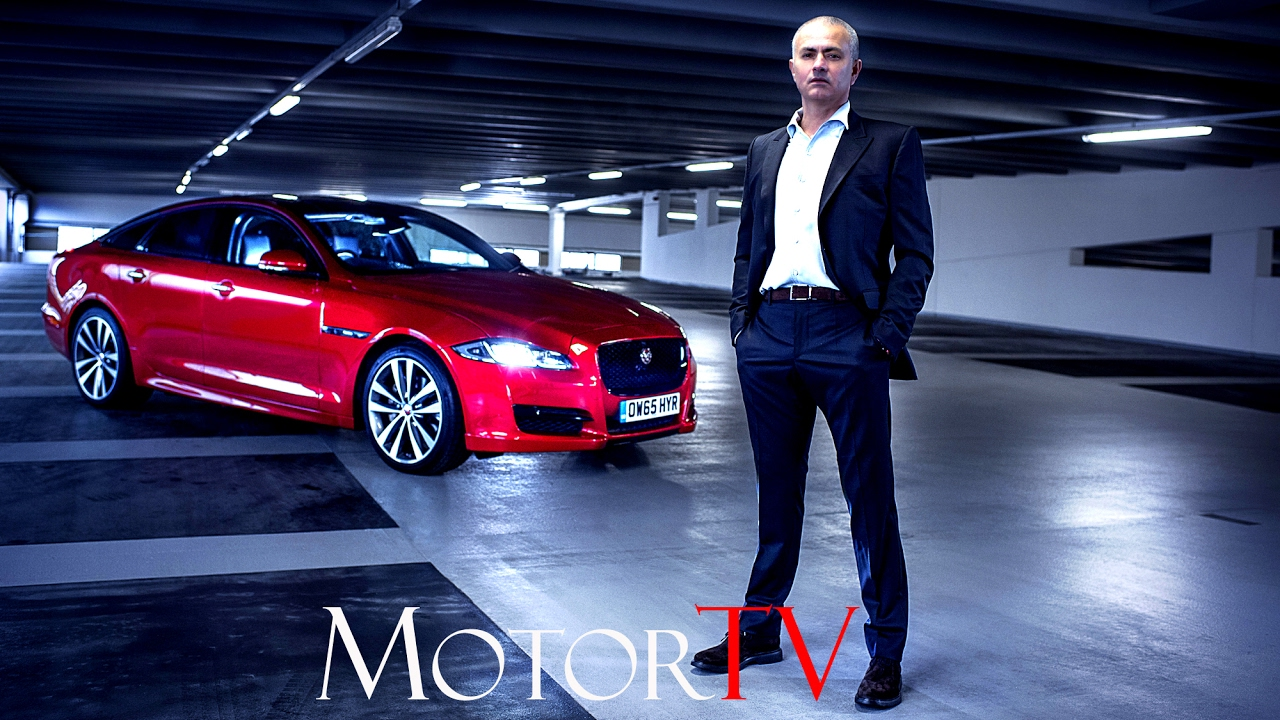 COMMERCIAL: JOSEu0027 MOURINHO AND THE NEW 2017 JAGUAR XJ L TV Adv