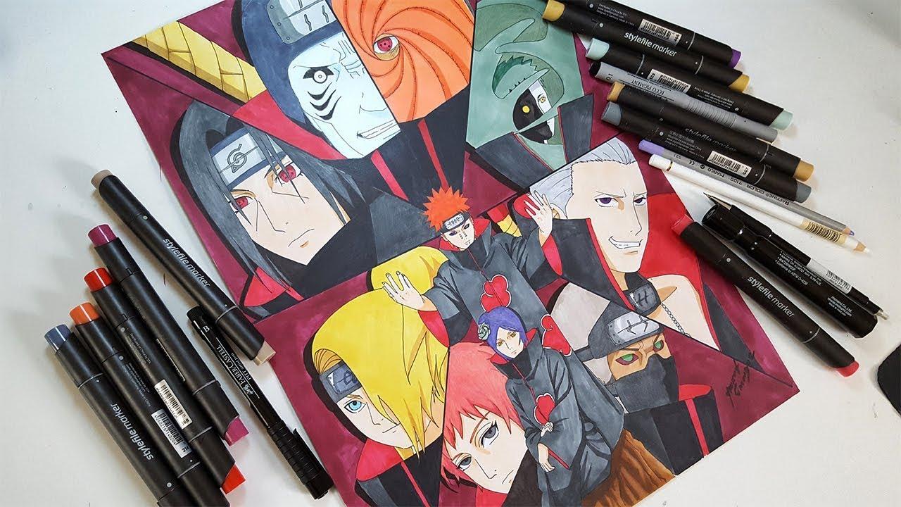 Drawing Akatsuki Characters