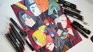 Drawing AKATSUKI Characters