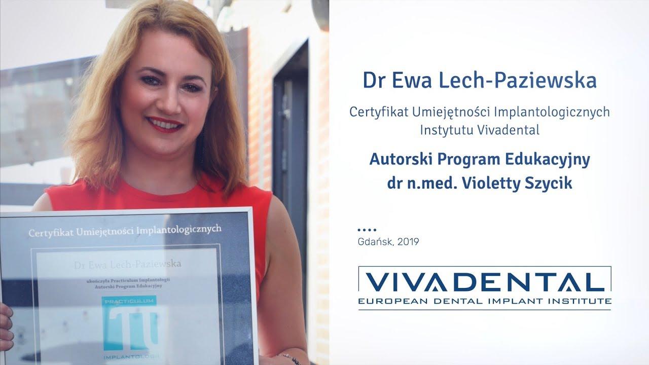 Dr Ewa Lech Paziewska – implanty na najgorsze przypadki…
