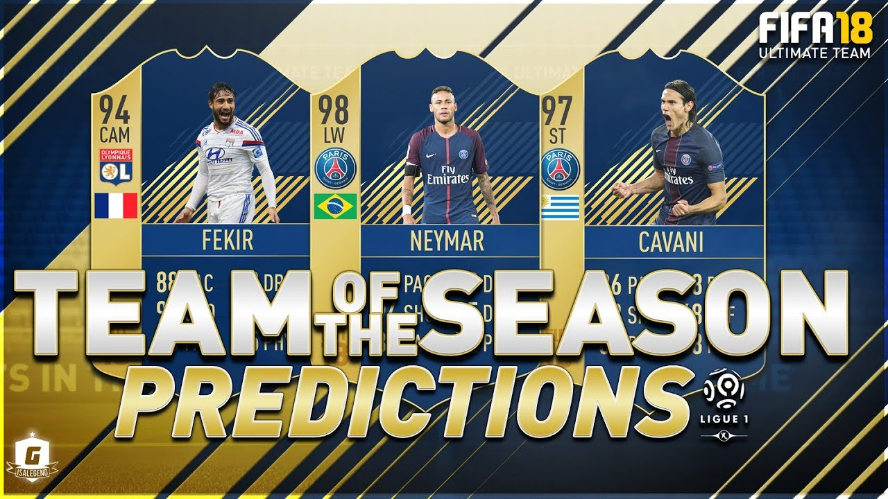 fifa 18 tots ligue 1 predictions ft tots neymar, tots cavani, tots fekir ligue 1 players ligue 1 c 18 #6