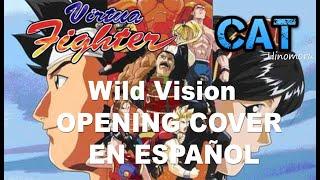 Download CAT Hinomoru Wild Vision バーチャファイター Virtua Fighter (Opening Fandub Cover Latino) MP3 song and Music Video