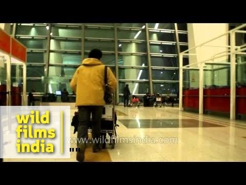 T3 airport Delhi: entrance, security check and airline check-in