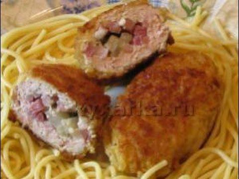 Блинчики с ветчиной и сыром - пошаговый рецепт с фото на