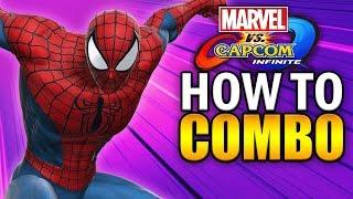 Video SPIDER-MAN Combo Guide - Marvel vs Capcom Infinite - Basic to Advanced! download MP3, 3GP, MP4, WEBM, AVI, FLV Januari 2018