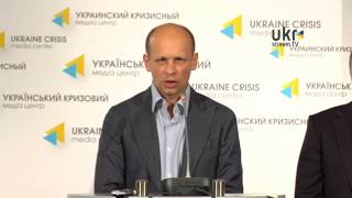 Jaroslav Gonchar. Ukrainian Сrisis Media Center.  June 6, 2014